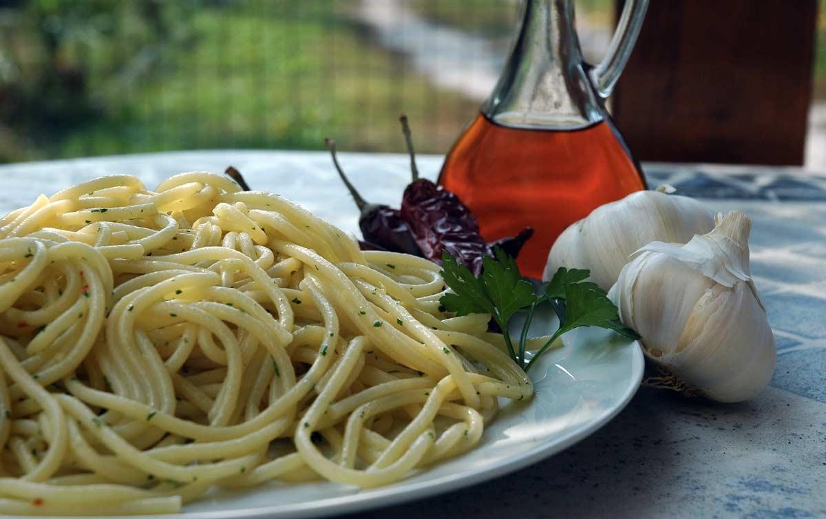 spaghetti colatura alici