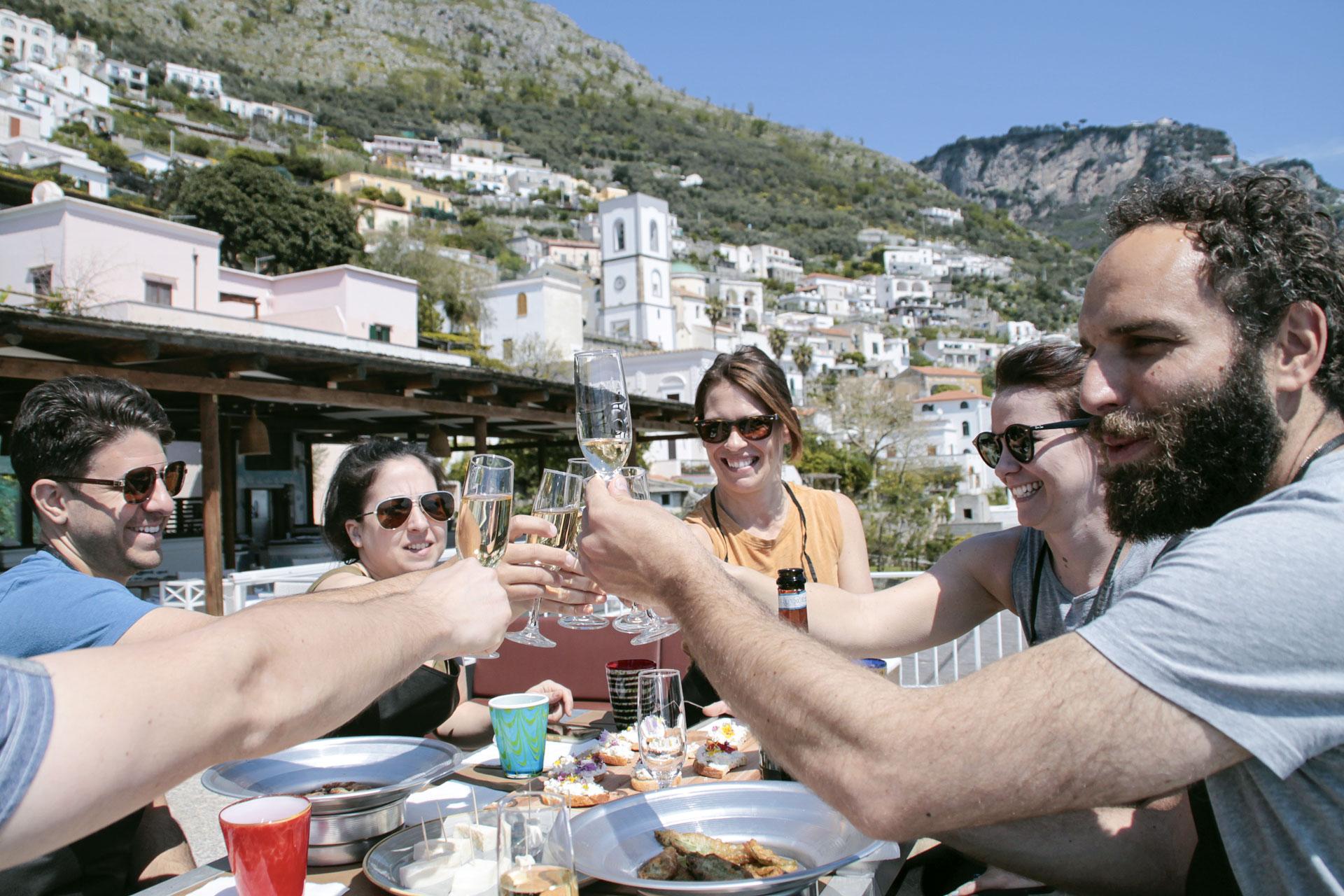 gastronomic trekking costa amalfi