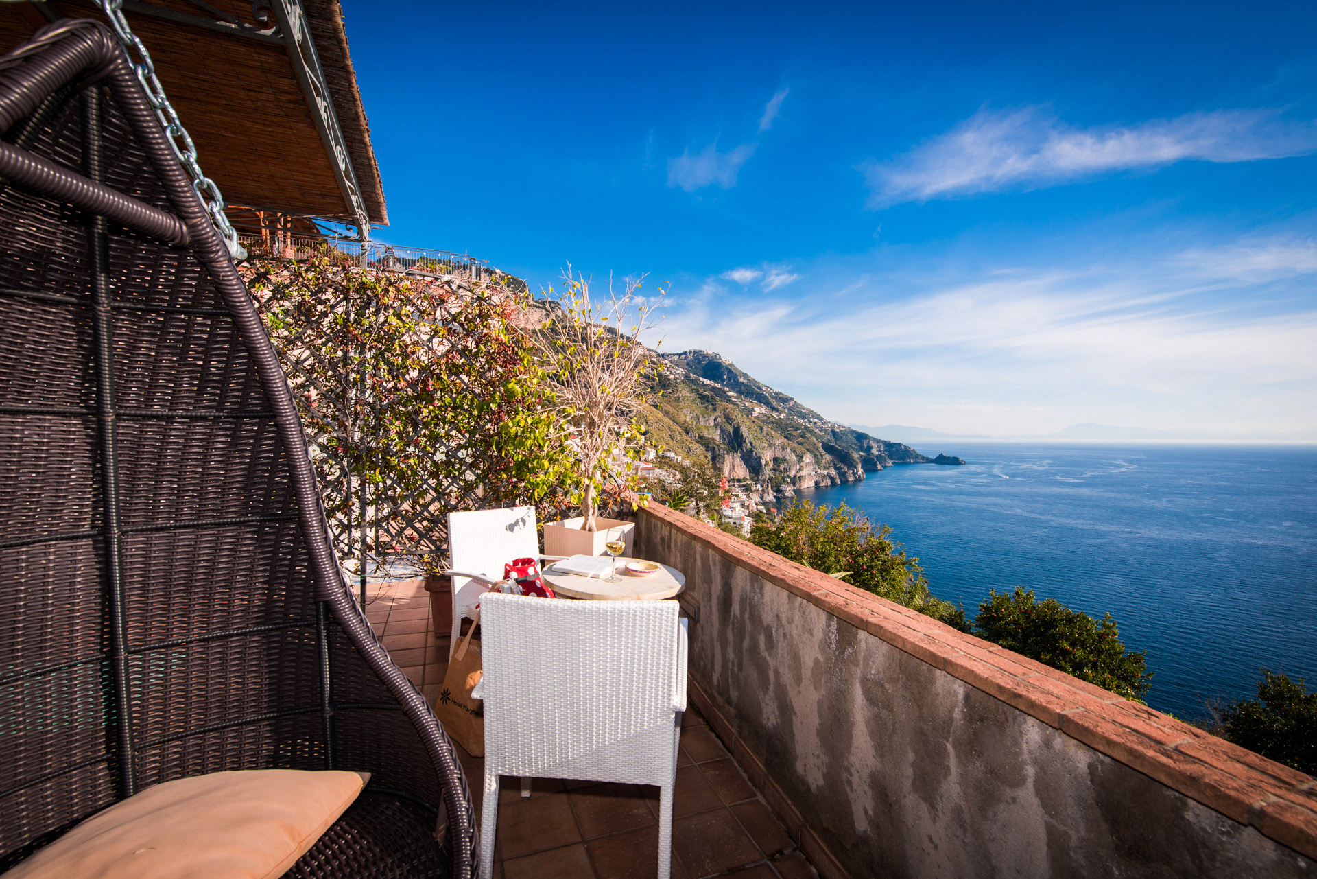 Romantic Hotel Room Amalfi Coast