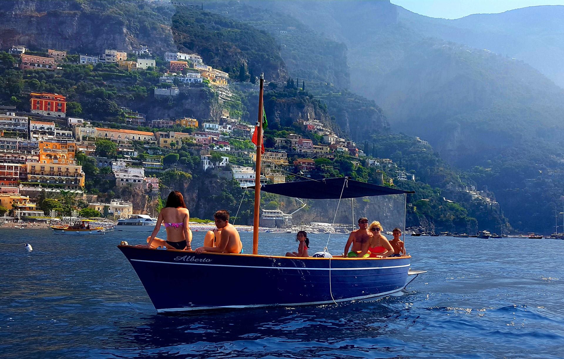 Noleggio imbarcazioni Praiano