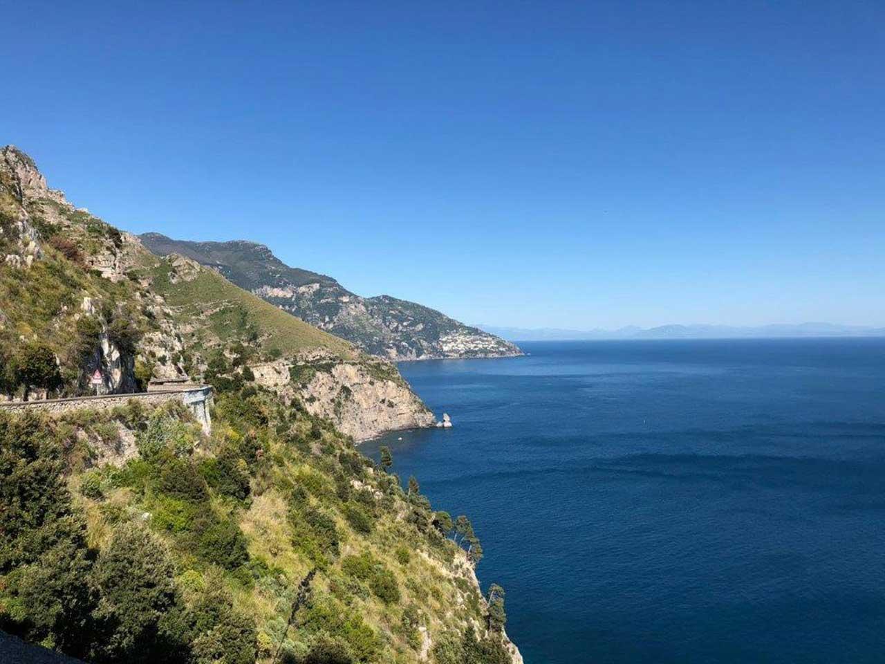 Amalfi Coast Scenic 163 Route