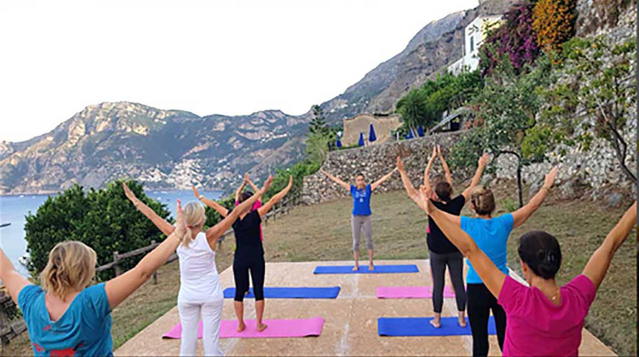 Viaggi Yoga in Costiera Amalfitana